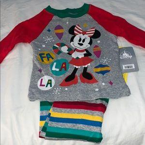 Disney Minnie Mouse Pajamas Size 2